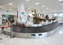 久米島空港 バゲージクレーム ターンテーブル