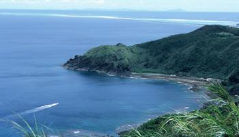 久米島観光 比屋定バンタ ばんた