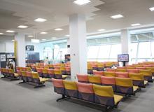 久米島空港 待合室