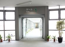 久米島空港エントランス
