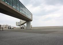 久米島空港ゲート