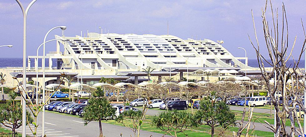 久米島空港 ターミナルビル
