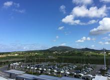 久米島空港駐車場