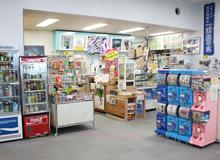 久米島空港 待合室売店 カフェリア・ニューロン