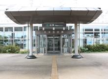 久米島空港 出発口