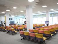 久米島空港出発待合室