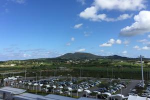 久米島空港駐車場 パーキング