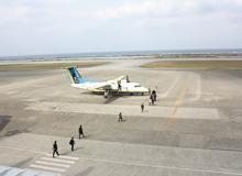 RAC 琉球エアコミューター搭乗