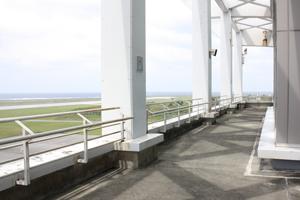 久米島空港展望デッキ 送迎デッキ 展望台